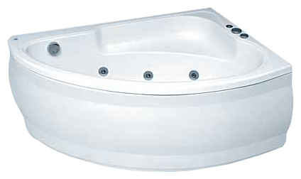 Pool Spa LUNA 140x95 SILVER 2